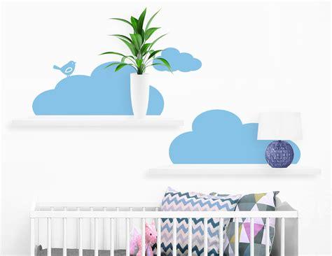Wandtattoo Kinderzimmer Wolken by Wandtattoo Wolken