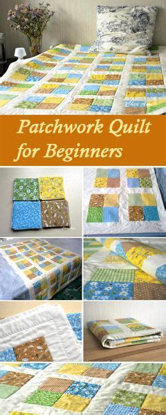 How To Make Patchwork Quilts For Beginners - mais de 25 ideias 250 nicas de patchwork quilting no
