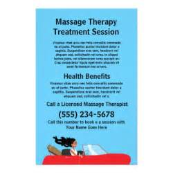 massage therapist flyer zazzle