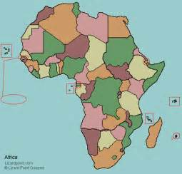 Countries Of Africa Map by Test Your Geography Knowledge Africa Countries Quiz