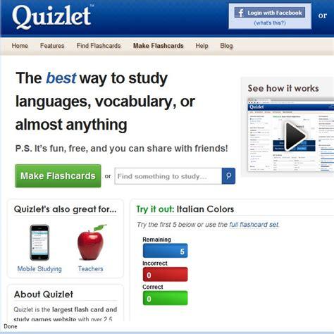 website to make flash cards study help quizlet trusper
