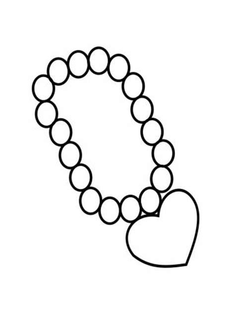 printable coloring pages jewelry jewelry coloring pages to and print for free