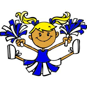 cheerleading clipart clipart clipart best