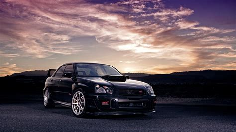black subaru 41060 subaru black wrx sti wallpapers wallpapers hd