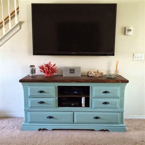 Diy Dresser Into Entertainment Center by 17 Diy Entertainment Center Ideas And Designs For Your New