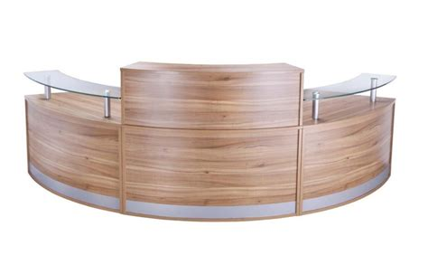 pb desk curved reception desk deluxe pb config 4 reality