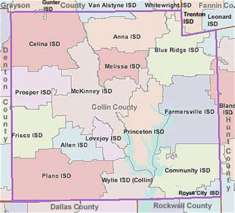 Collin County Property Records Search Map Of Collin County My