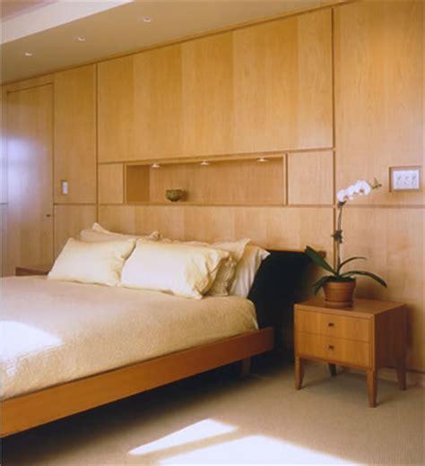 bedroom wall unit headboard jim luton custom woodworking and design canopy studios inc