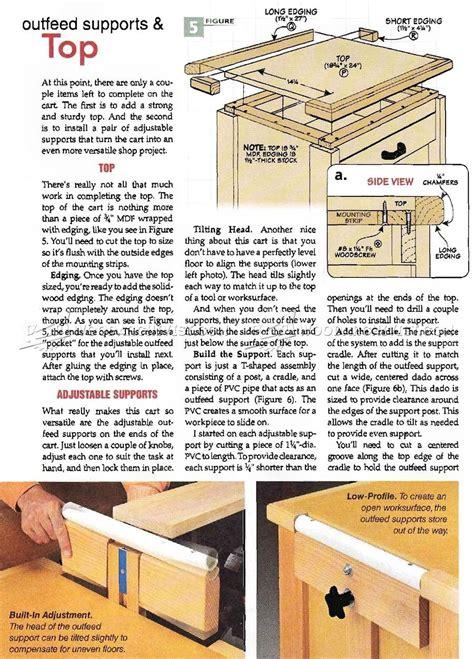 Rolling Wood Shop Cabinet Plans