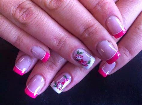 imagenes de uñas decoradas con esmalte 2015 u 241 as pies decoradas rosadas imagui