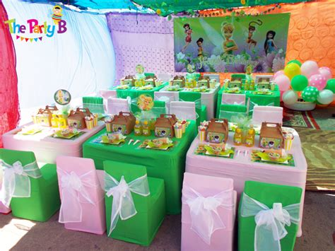 tinkerbell themed party cape town the party b kids