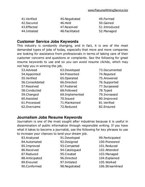 key words for resume keywords for resumes lifiermountain org