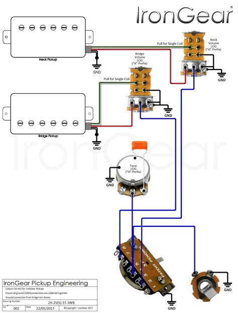 2wire humbucker wiring wiring diagram with description