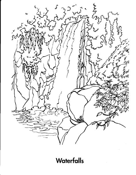 coloring page of niagara falls niagara falls coloring page coloring pages ideas