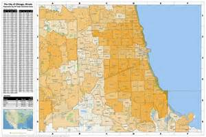 Chicago Il Zip Map by Zip Code Map Chicago Il Images