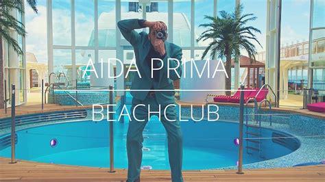 Aidaprima Schiffsdaten by Aidaprima Beachclub Bilder Aida Kreuzfahrten