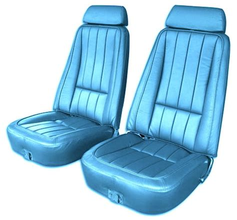 c3 corvette seats c3 corvette 1968 1975 seat covers 100 leather oe