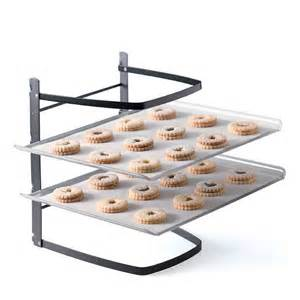 Baking Sheet Rack by Stacked Cooling Rack