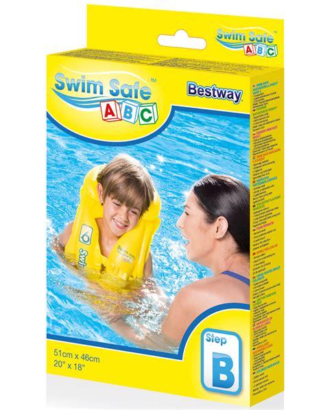 Promo Swim Safe Step B Swim Vest Jaket Rompi Pelung Anak bestway swim safe floatation vests wholesaler swimming aids best trade prices world of hosiery