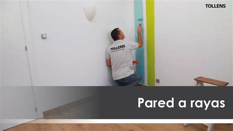 cenefas pintadas en la pared c 243 mo pintar una pared a rayas