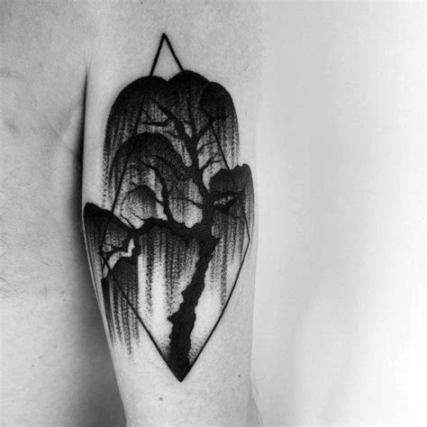 willow tree tattoo designs 60 cool tree tattoos for nature inspired ink design