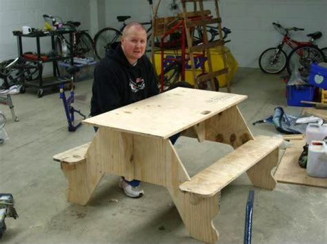 boy scout bench plans plywood picnic table plans cing pinterest flats