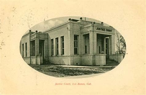 Los Banos Post Office by Postcards From California