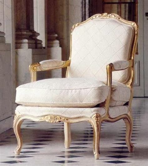 White Salon Chairs French Style Salon Arm Chair 1821 Cream Off White