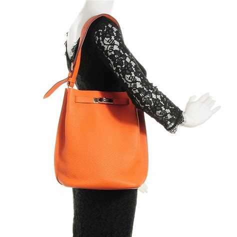 H Ermes So by Hermes Togo So 22 Orange 102251