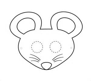 printable mouse mask template mouse mask gallery