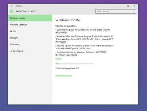 microsoft rolls out kb3116908 cumulative update for microsoft rolls out second cumulative update for windows