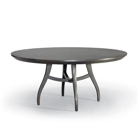 round contemporary ii dining table dering hall clarion round dining table contemporary mid century