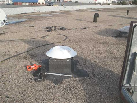 Tar Roof Repair Tar N Gravel Built Up Modified Bitumen Roof Repair For