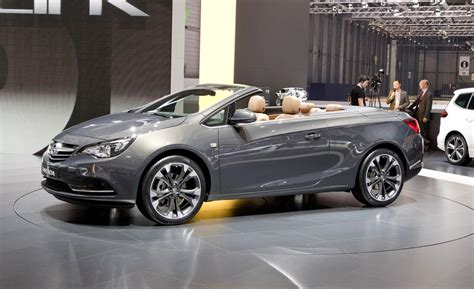opel cascada convertible car and driver
