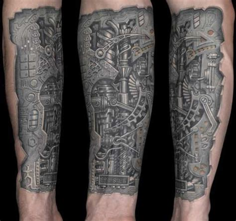 biochemical tattoo design biomechanical pictures