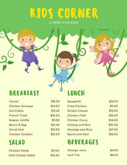 easy menu templates free customize 95 menu templates canva
