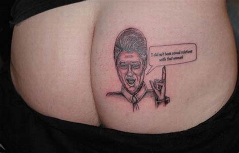 regrettable tattoos the 24 most regrettable political tattoos craveonline