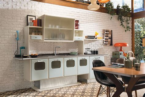 Bungalow Style Homes by Vintage Kitchen Offers A Refreshing Modern Take On Fifties