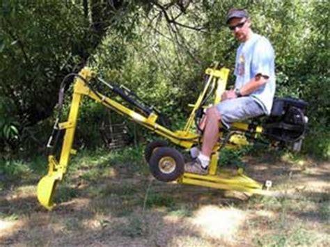 escavatore da giardino escavatore da giardino