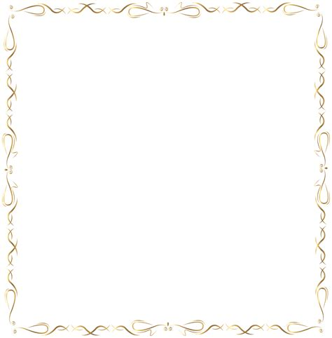 golden border png clip art image gallery yopriceville
