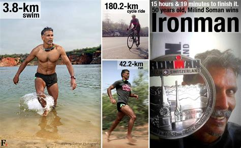 ironman milind soman completes toughest triathlon