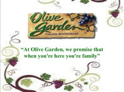 Olive Garden Mission Statement by Ppt Tune Olive S Brow Powerpoint Presentation Id 4294226