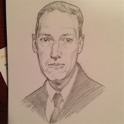 H P Lovecraft Sketches by Lovecraft Dota And Rediscovering Sketching