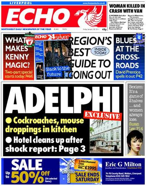 news from liverpool and merseyside for monday november 16 latest liverpool echo see the front and back pages of our latest