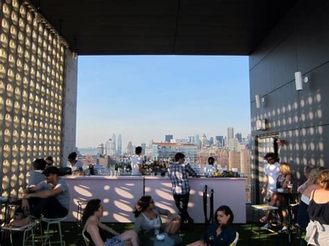 Top Of The Standard Bar by Manhattan Living 183 The Standard Hotel Nyc New York
