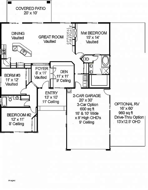 house plan unique house plans with motorhome garage house