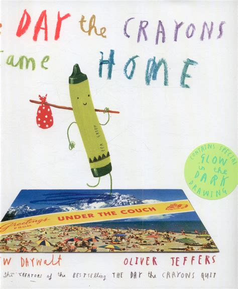 the day the crayons came home by daywalt drew 9780008124434 brownsbfs