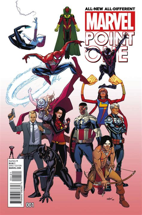 All New all new all different marvel preview