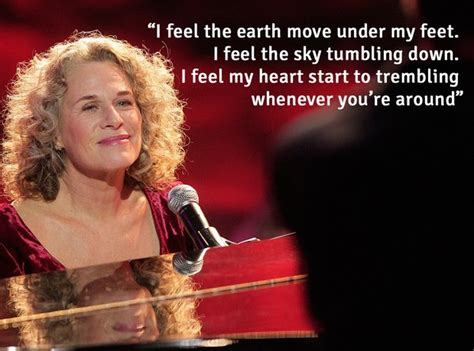 Carole King A Place To Live Lyrics I Feel The Earth Move The Most Beautiful Lyrics From Carole King S Songs Smooth