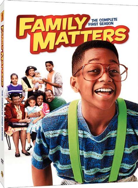 Art for family matters the complete 1st season tvshowsondvd com